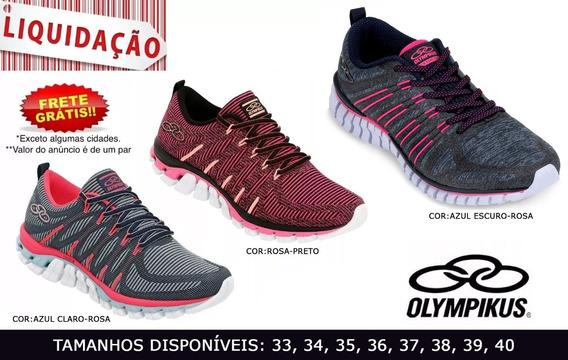 Tênis Feminino Olympikus Style E Extreme Original 33 Ao 40