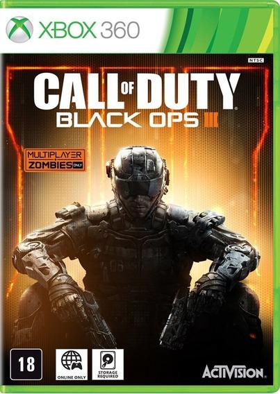 Jogo Call Of Duty Black Ops 3 Mídia Física Lacrado ( Leia )