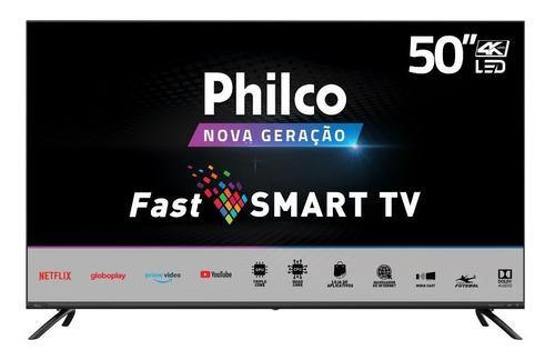 Smart Tv Philco 50 Polegadas 4k  Led  Ptv50g70sblsg