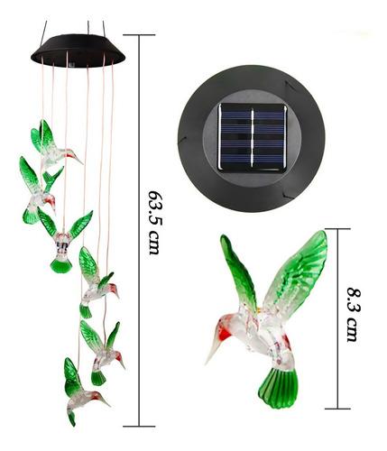 Imagen 1 de 6 de Lámpara Solar Led Decorativa, Regalo De Cumpleaños, Lámpara