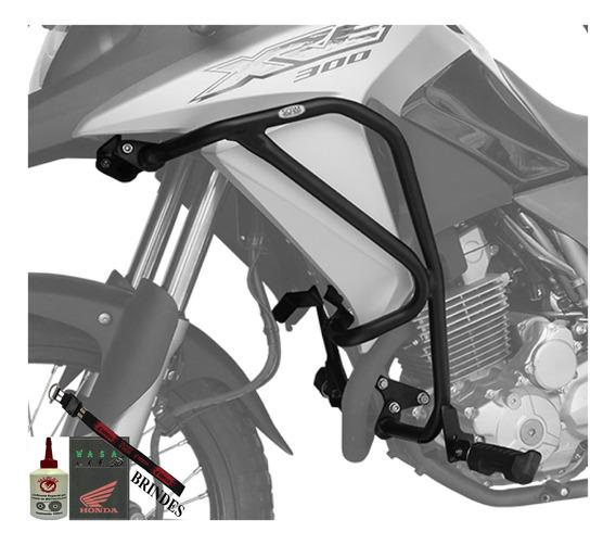 Protetor De Motor Carenagem Com Pedaleira Honda Xre300 Scam