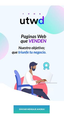 Imagen 1 de 10 de Página Web Diseño Web  Economica Hosting Dominio Tiendas