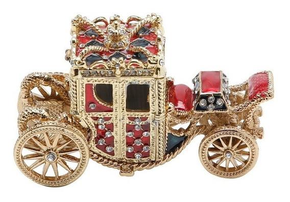 Porta-joias De Zamac Carriage Carruagem Prestige R25238