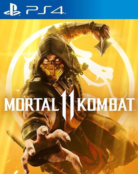Mortal Kombat 11 Totalmente Em Português - Ps4 - Original 1