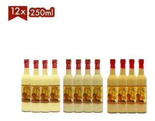 Rompope Casero Doña Margot 12 Botellas De 250ml