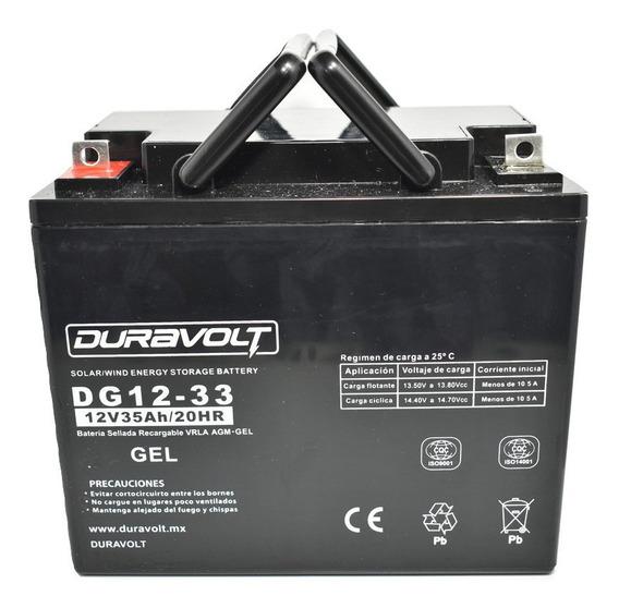 Batería De Silla De Ruedas Eléctrica 12v, 35 Ah,dg-1233 Gel