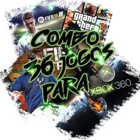 Combo 36 De Jogos Xbox 360 Mídia Digital+ Gta V De Brinde