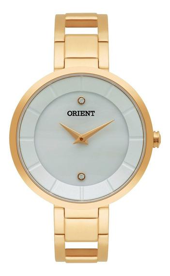 Relógio Orient Fgss0049 B1mx Dourado Feminino - Refinado