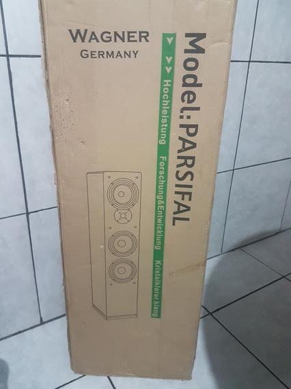 Caixa De Som Wagner Germany Modelo Parsifal Nova Na Caixa