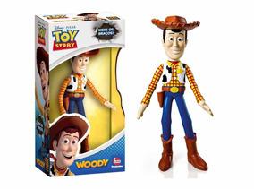 Boneco Vinil Toy Story Woody - Líder Brinquedos Pixar