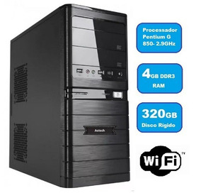 Cpu Intel Pentium G850 2.9ghz 4gb Ddr3 Hd 320gb