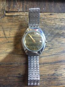 Relógio A Corda Aseikon De Pulso Antigo Não Automat 003