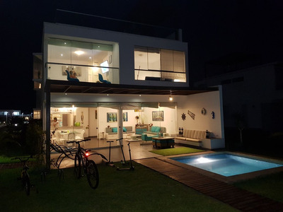 Casa De Playa Todo El Año, Ideal Celebraciones Y Vacaciones