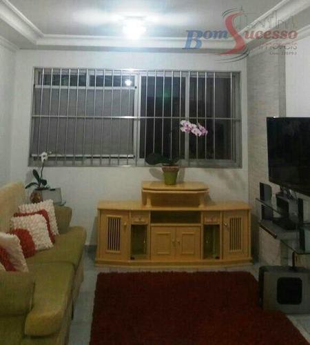 Imagem 1 de 17 de Apartamento Com 3 Dormitórios À Venda, 94 M² Por R$ 570.000,00 - Tatuapé - São Paulo/sp - Ap0877