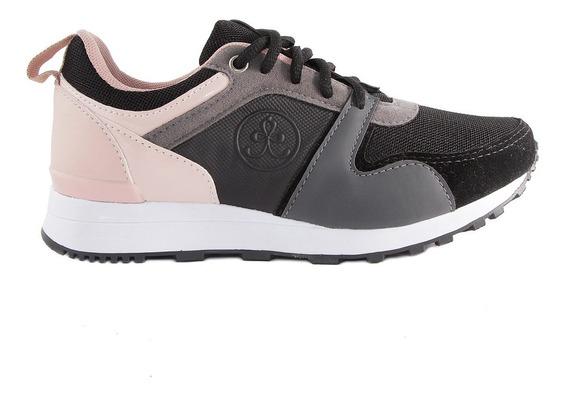 Zapatilla Plataforma Mujer Urbana Sneaker Moda Parisi B1