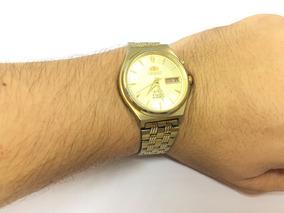 Relógio Orient Em5m-a0 3 Estrelas 21 Jewels