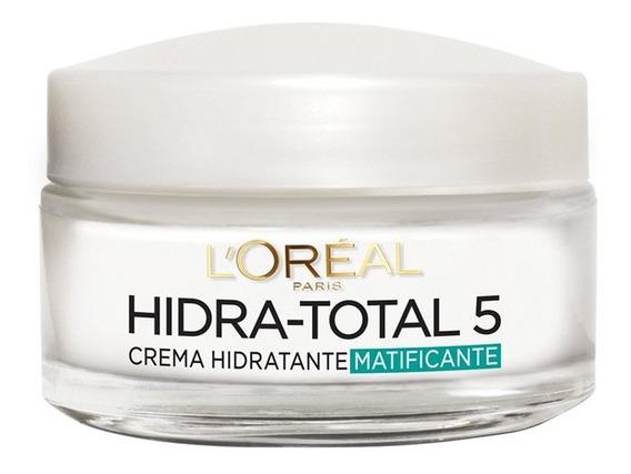 Crema Humectante Matificante Hidratación T5 Loréal Paris