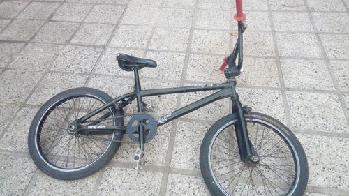 Bici Bmx Vairo Usada Negra
