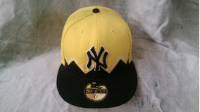 Gorra Amarillo Negro- Talla 7 1/4- New York Yankees