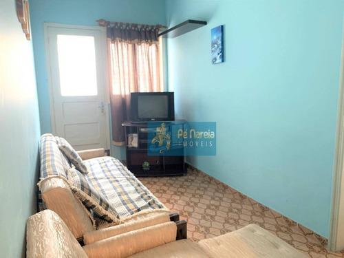 Kitnet Com 1 Dormitório Para Alugar, 44 M² Por R$ 1.099,00/mês - Canto Do Forte - Praia Grande/sp - Kn0070
