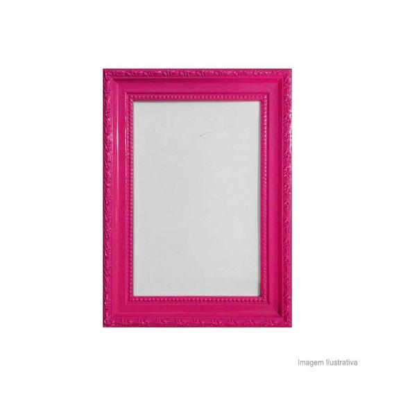 Porta Retrato 15x21cm Queem Pink Brilhante Infinity Infinity