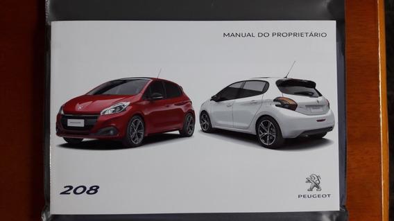 Manual Completo Peugeot 208 Original 2016/2017 Promoção