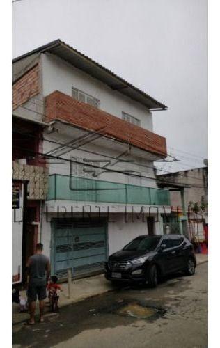 Sobrado Excelente Com 5 Casas, Com Possibilidade De Salão De Festas E Churrasqueira No Último Andar - Santa Terezinha