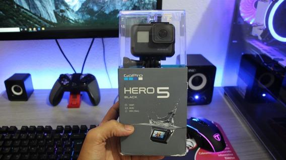 Gopro Hero 5 Black, Acessórios Originais, Nova Na Caixa