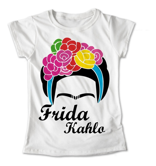 Blusa Frida Kahlo Mexico Colores Playera Estampado #321