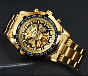 Relógio T-winner Automático Dourado