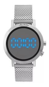 Relógio Euro Feminino Digital Eubj3407ab/3p Original Barato