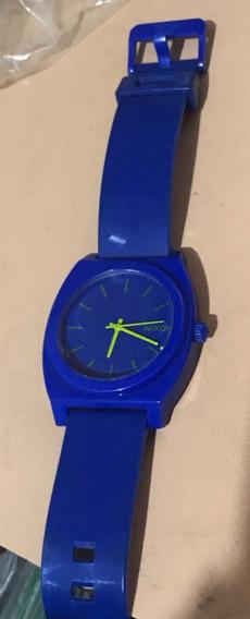 Nixon Time Teller Azul Original