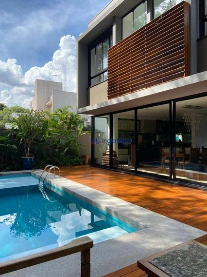 Casa Com 4 Suítes À Venda, 276 M² Por R$ 1.970.000 - Alphaville Ii - Londrina/pr - Ca1299