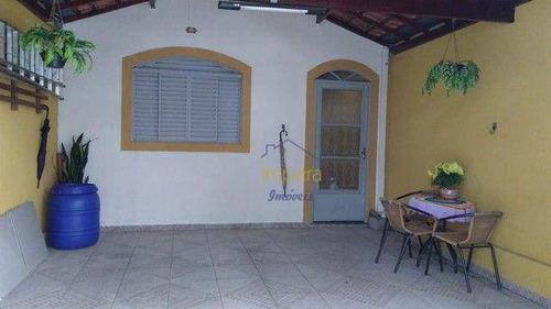 Imagem 1 de 5 de Casa Com 3 Dormitórios À Venda, 117 M² Por R$ 270.000,00 - Jardim Santa Inês - São José Dos Campos/sp - Ca0565