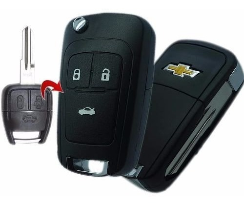Chave Canivete Gm Astra Vectra Corsa Celta Agile Corsa