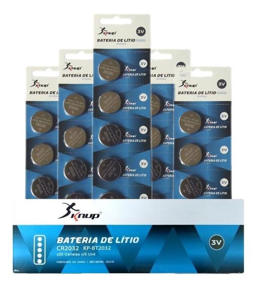 Bateria Cr2032 3v Lithium Kit 50 Unidades Cartela Placa Mãe