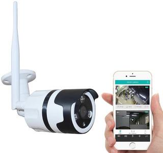 Camara Exterior Ip Vision Nocturna Habla Y Escucha + Sensor