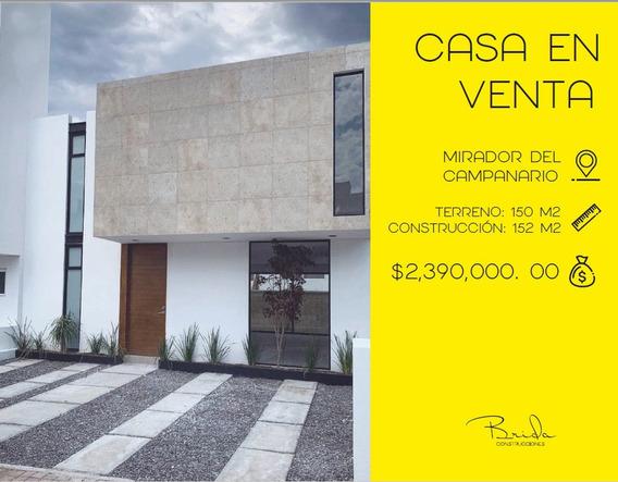 Casa En Venta, Mirador Del Campanario, Lomas Del Marques