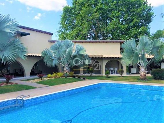 Chácara Para Locação - 4 Suítes Sendo 1 Master -residencial Polaris - R$ 13.000,00 - Indaiatuba/sp! - Ch0047