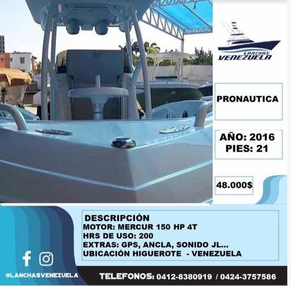 Lancha Pronautica Lv164
