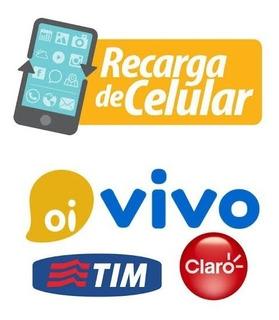 Recarga Celular Credito Vivo Tim Claro 10,00