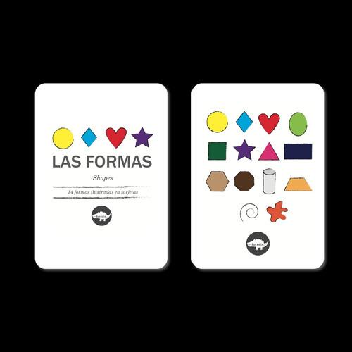 Flash Card Formas - Tarjetas De Formas