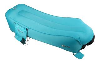 Fill & Chill Tumbona Inflable Air Sofá Con Bolsa De Trans