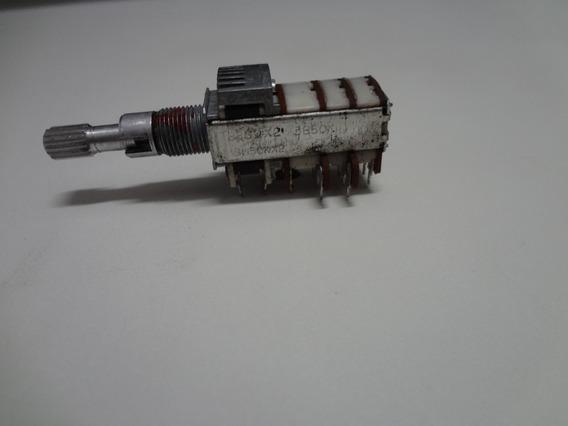 Potenciômetro Radio Toca-fitas De Carro 5 X 50k Com Chave