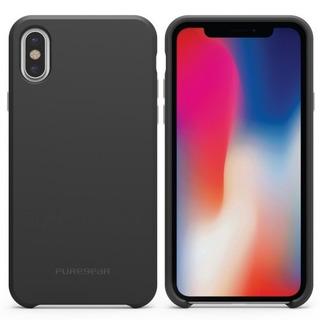 Estuche Protector Puregear Softtek iPhone X - Negro