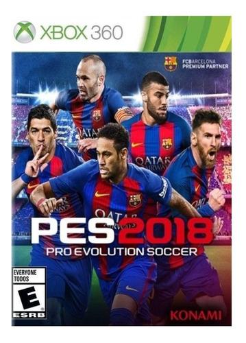 Imagen 1 de 3 de Pro Evolution Soccer 2018 Standard Edition Konami Digital Entertainment Xbox 360 Digital