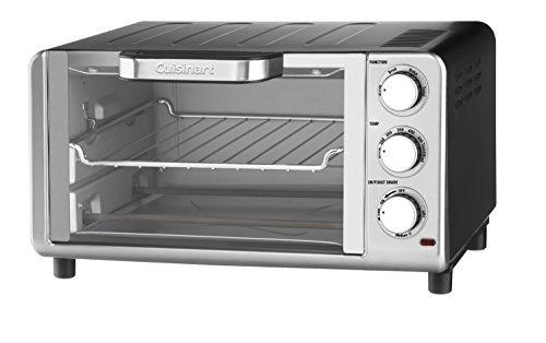 Cuisinart Tob-80n Horno Tostador Compacto, Acero Inoxidable