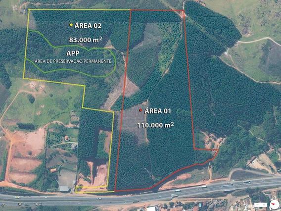 Área Industrial À Venda, Mato Dentro, Atibaia. - Ar0064