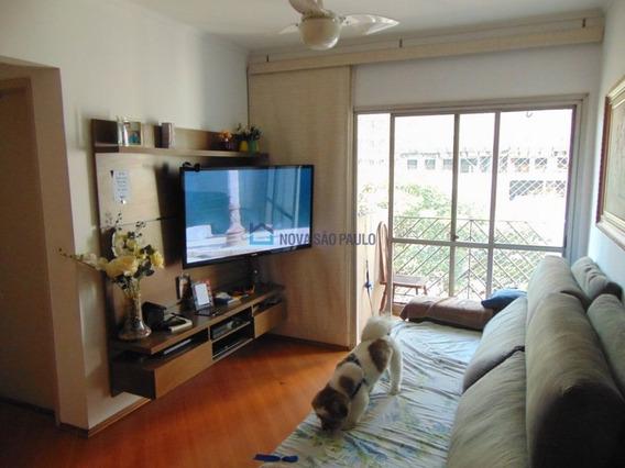 Moema Pássaros,apartamento 64m².com Sacada E Perto Da Estação Eucalípto, Do Metrô. 02 Dorm. 01 Vaga. - Mo317