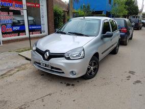 Renault Clio 2013 Conf Plus 5 Ptas Gris / No Palio Gol Celt